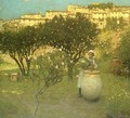 December in Provence - Henry Herbert La Thangue