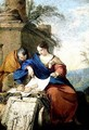 The Holy Family at Rest - Laurent de La Hyre