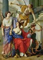 Allegory of the Regency of Anne of Austria 1601-66 - Laurent de La Hyre