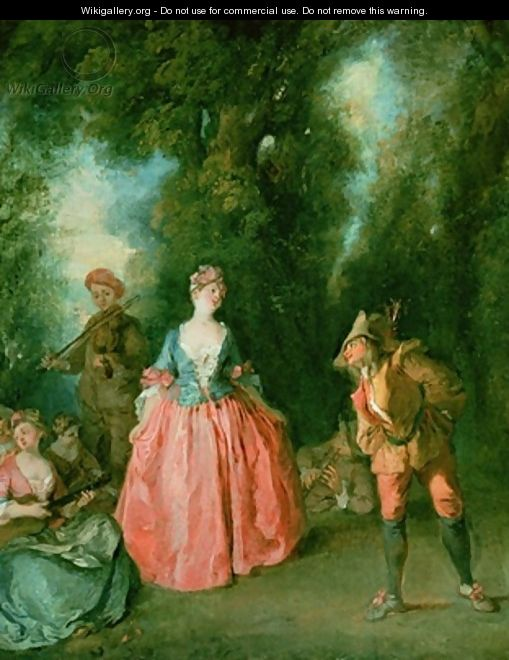 The Dance 3 - Nicolas Lancret