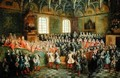 Bed of Justice Held in the Parliament at the Majority of Louis XV - Nicolas Lancret
