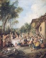 Wedding Feast in the Village - Nicolas Lancret