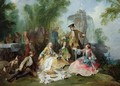 The Hunting Party Meal - Nicolas Lancret