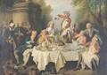 The Ham Lunch 2 - Nicolas Lancret