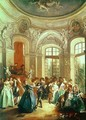 A Dance in the Summer House - Nicolas Lancret