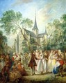 The Wedding Dance - Nicolas Lancret