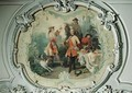 Chantilly in the 18th Century the Hunt Meal - Eugene Louis Lami