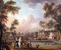 The Charge of the Prince of Lambesc 1751-1825 in the Tuileries Gardens - Jean-Baptiste Lallemand