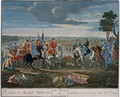 The taking of Marshall Tallard and pushing 4000 Horses into the Danube at the Battle of Blenheim in 1704 - Louis Laguerre