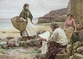 Newlyn Catching up with the Cornish Telegraph - Walter Langley