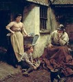 A Chip off the Old Block - Walter Langley