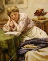 A Quiet Read - Walter Langley