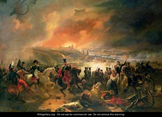 The Battle of Smolensk - Jean-Charles Langlois