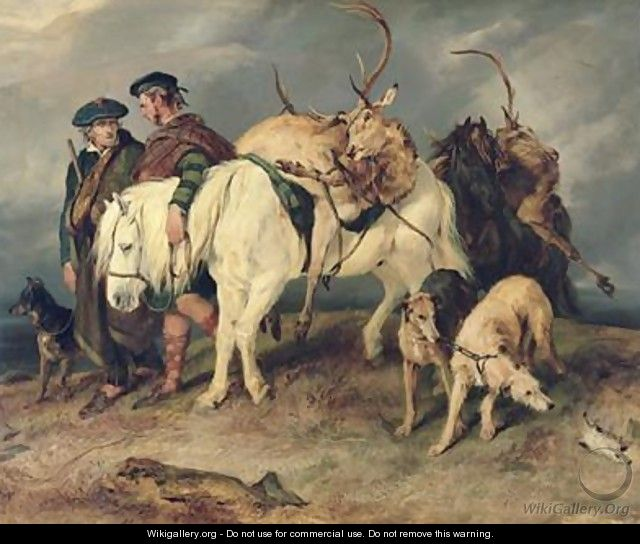 The Deerstalkers Return - Sir Edwin Henry Landseer