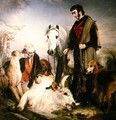 Scene in Chillingham Park Portrait of Lord Ossulston - Sir Edwin Henry Landseer
