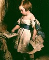 Child with a drawing - Sir Edwin Henry Landseer