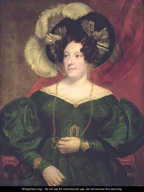 Caroline of Brunswick Queen of Great Britain and Ireland 1768-1821 - Samuel Lane