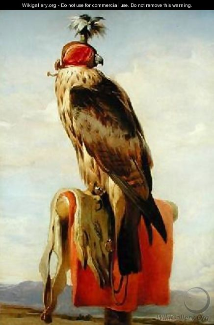 Hooded Falcon - Sir Edwin Henry Landseer