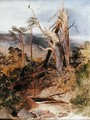 Highland Landscape with Split Scotch Pine - Sir Edwin Henry Landseer