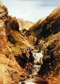 Highland Stream or Highland Landscape Glen Tilt - Sir Edwin Henry Landseer