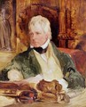Portrait of Sir Walter Scott - Sir Edwin Henry Landseer