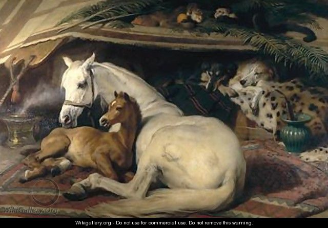 The Arab Tent - Sir Edwin Henry Landseer