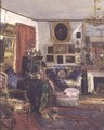 Interior Scene - G. A. Launay