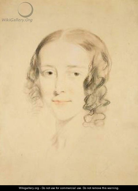 Portrait of Frances Dickens - Samuel Laurence
