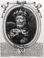 Portrait of Merovech d 456 King of the Salian Franks - Nicolas II de Larmessin