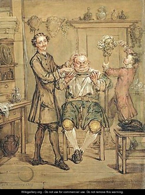 The Barber - Marcellus, the Younger Laroon