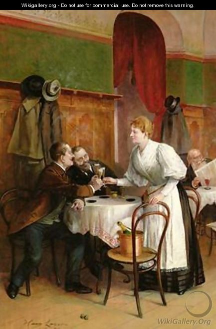 Drinking their health - Hans August Lasser