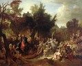 The Entry of Christ into Jerusalem - Nicolas de Largilliere