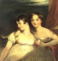 Fanny and Jane Hamond - (after) Lawrence, Sir Thomas