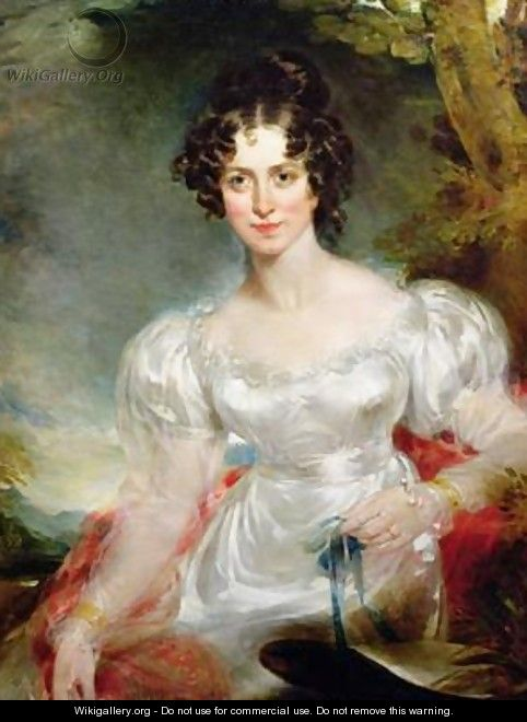 Portrait of Lady Anne Bentinck - Sir Thomas Lawrence