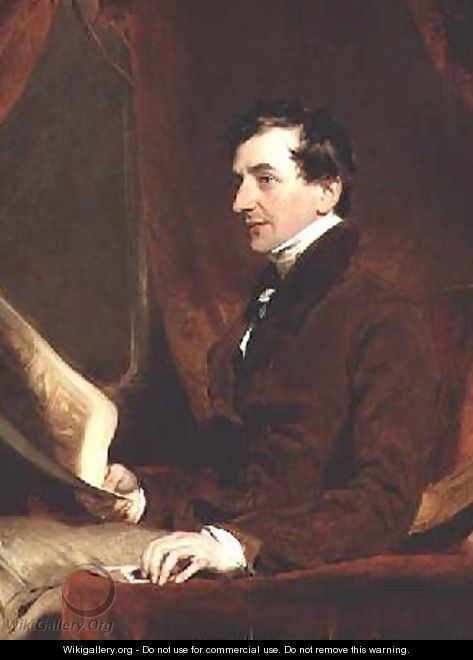 Portrait of Samuel Woodburn - Sir Thomas Lawrence