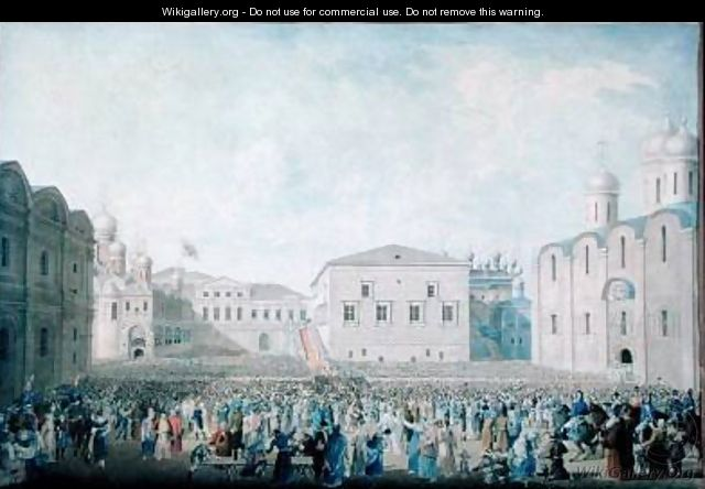 The Great Reception of Alexander I 1777-1825 in the Kremlin - I.A. Lavrov