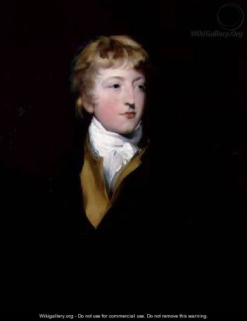 Portrait of Hastings Impey 1782-1805 - Sir Thomas Lawrence