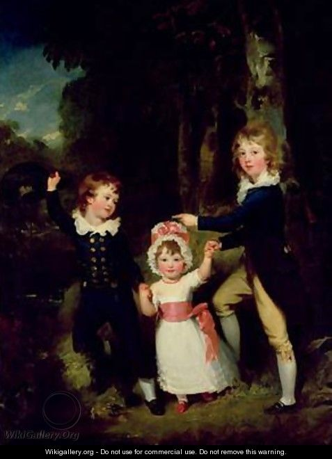 Portrait of the Children of Lord George Cavendish - Sir Thomas Lawrence