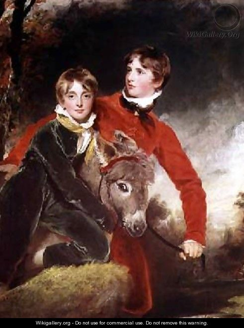 The Masters Patterson - Sir Thomas Lawrence
