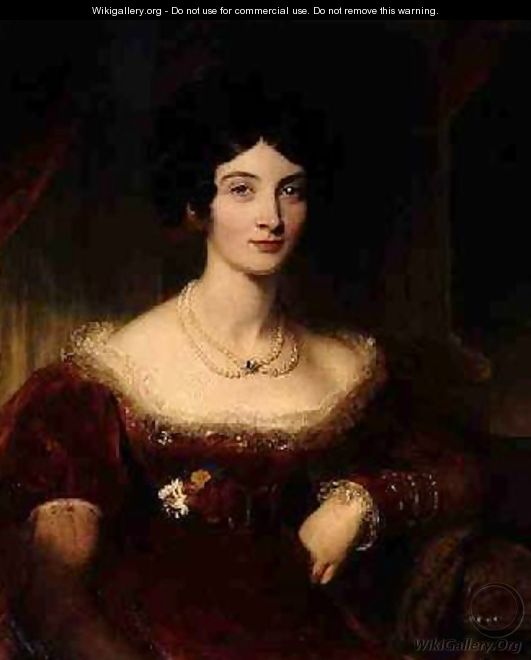 Anna Frances Bankes Lady Falmouth 1789-1864 - Sir Thomas Lawrence