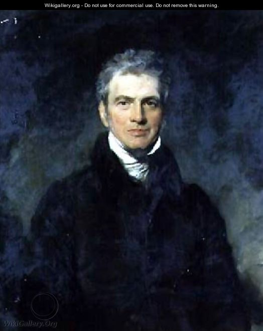Portrait of Sir Harford Jones Brydges - Sir Thomas Lawrence