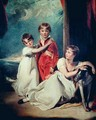 Portrait of the Fluyder Children - Sir Thomas Lawrence