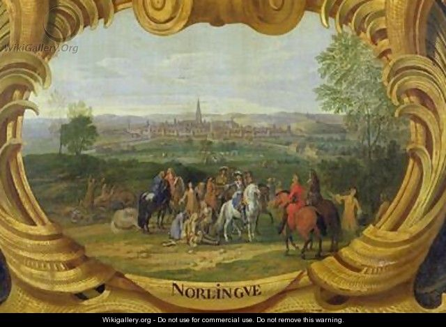 The Battle of Nordlingen - Sauveur Le Conte