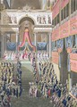 Sacred Festival and Coronation of their Imperial Majesties 3 - (after) Le Coeur, Louis