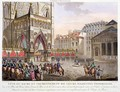 Sacred Festival and Coronation of their Imperial Majesties - (after) Le Coeur, Louis
