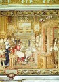 Louis XIV 1638-1715 receiving the Papal Legate at Fontainebleau 2 - (after) Le Brun, Charles