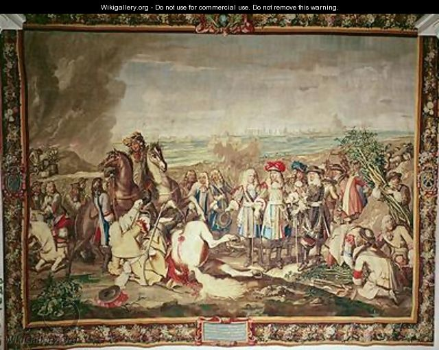 The Surrender of Marsal in 1662 - (after) Le Brun, Charles