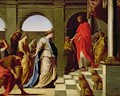 Solomon and the Queen of Sheba - Eustache Le Sueur
