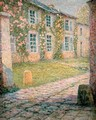 The House with Roses Versailles - Henri Eugene Augustin Le Sidaner