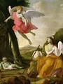 Hagar and Ishmael Rescued by the Angel - Eustache Le Sueur